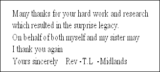 Many thanks for your hard work and research 