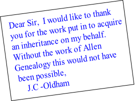 Dear Sir,  I would like to thank 
